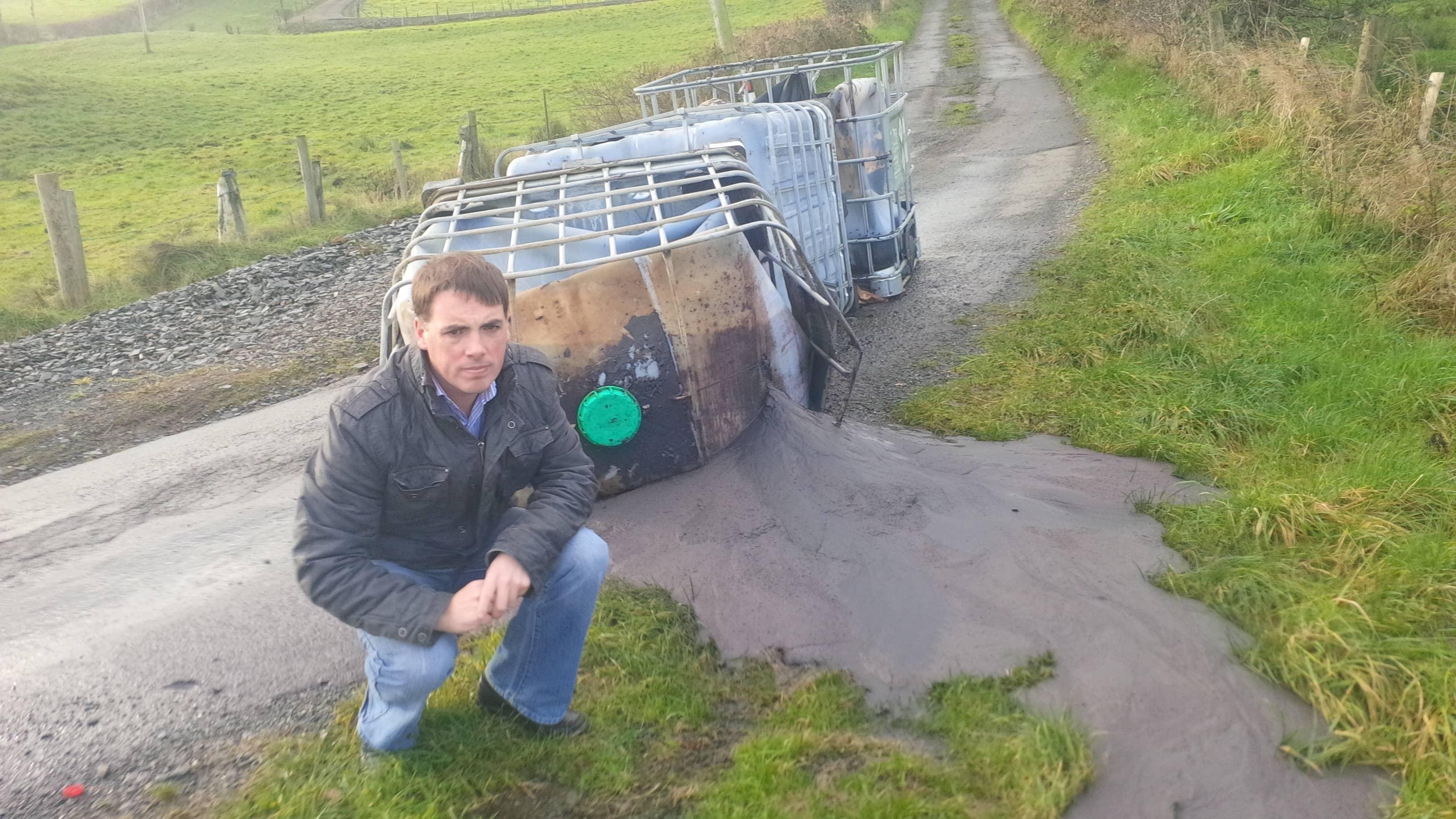 Darren McNally Fuel Waste in Derrynoose
