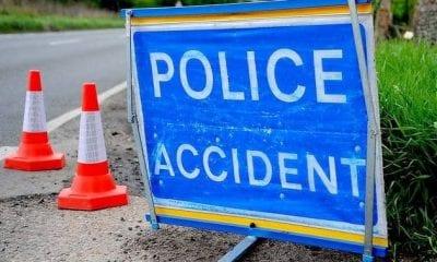 Police incident scene