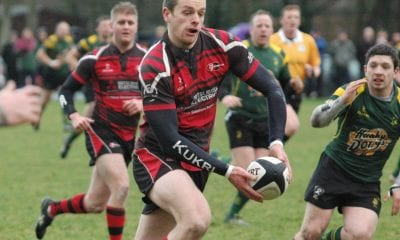 Armagh Rugby Club Captain Richard Reaney