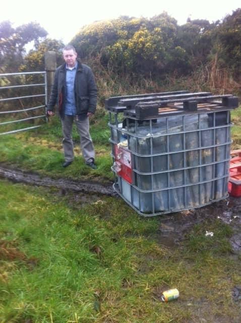 Forkhill fuel dumping