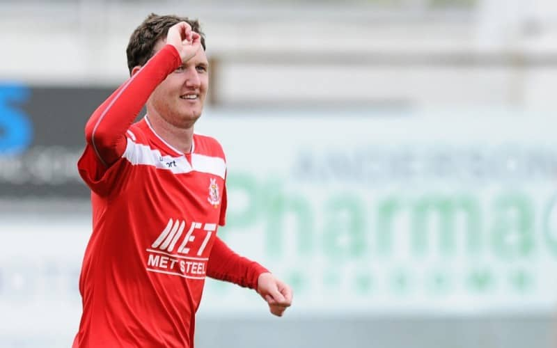 Gary Twigg Portadown FC