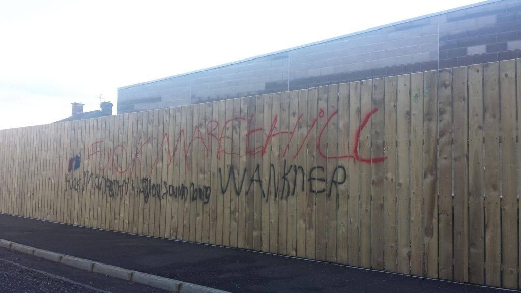 Markethill graffiti
