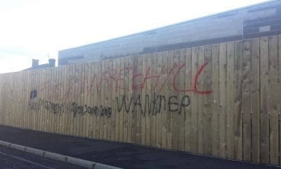 Markethill graffiti