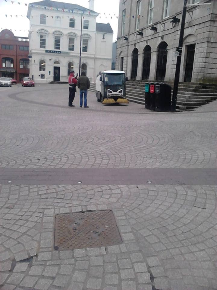 Parking ticket Armagh City