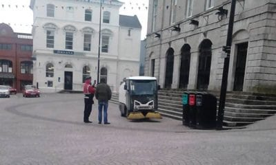 Parking ticket Armagh City Centre