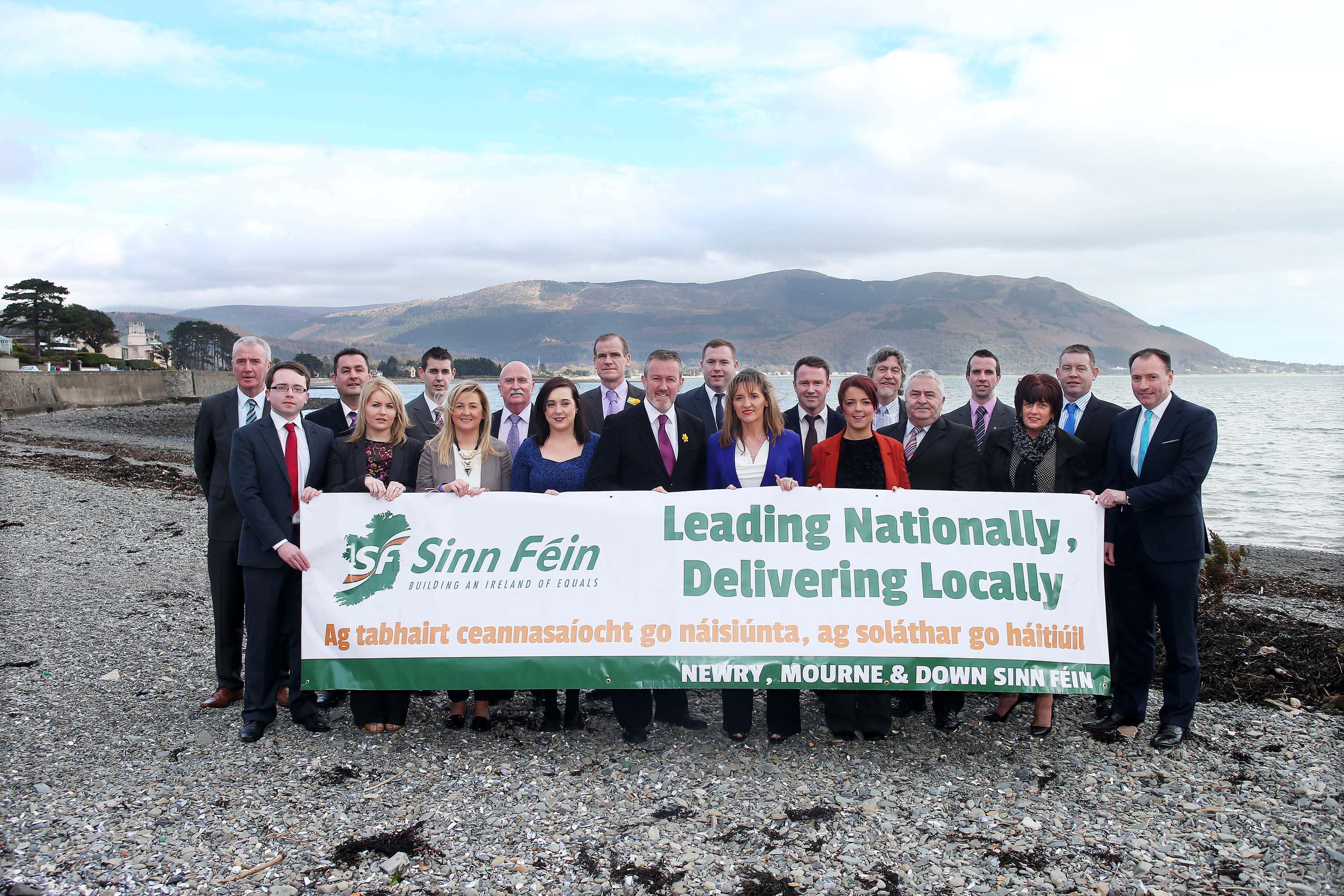 South Armagh Candidates with Conor Murphy, Megan Fearon and Martina Anderson