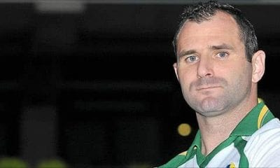 Armagh under 21 manager Steven McDonnell