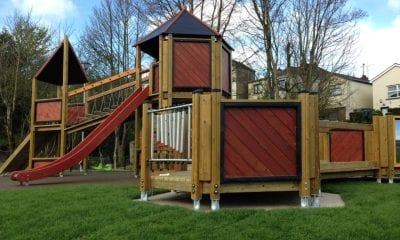 The new completed Keady play park