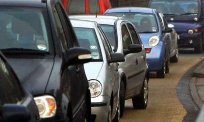 Traffic delays Armagh