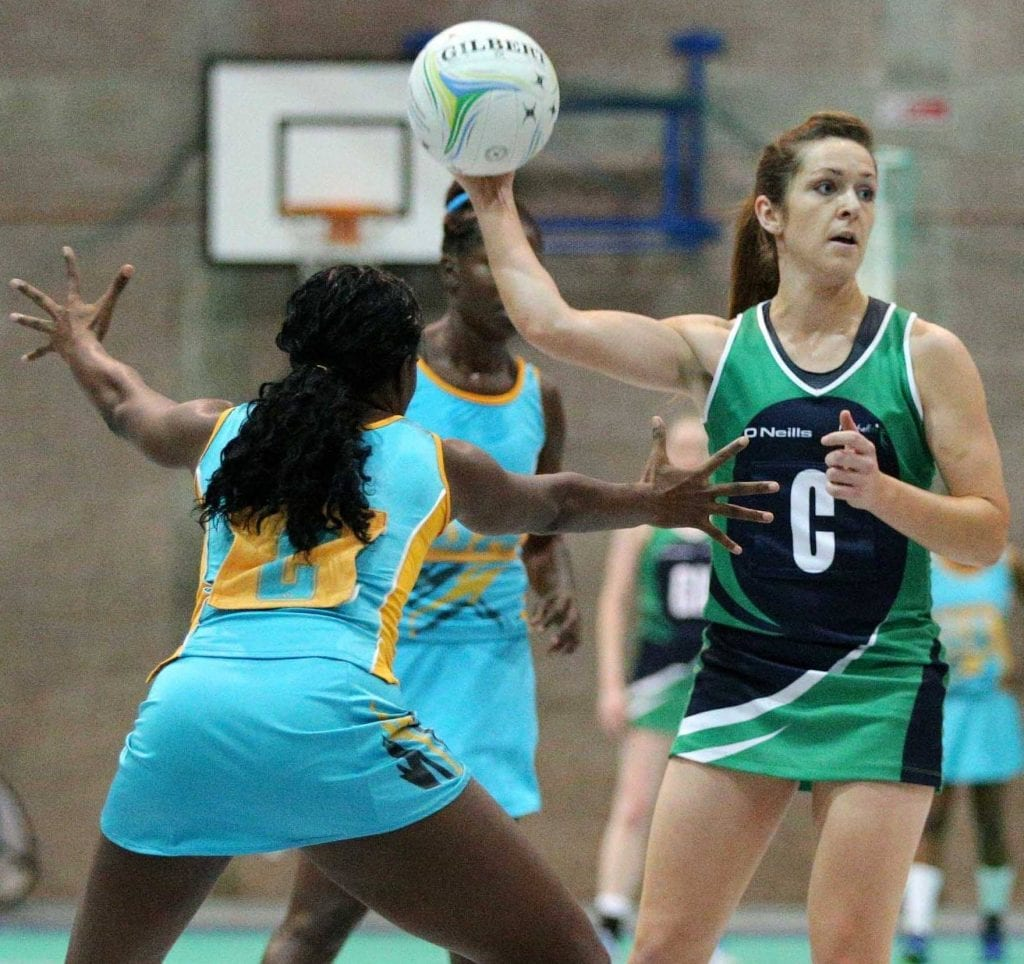 Northern Ireland's Caroline O'Hanlon in action
