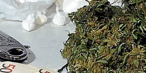 Cannabis and cocaine