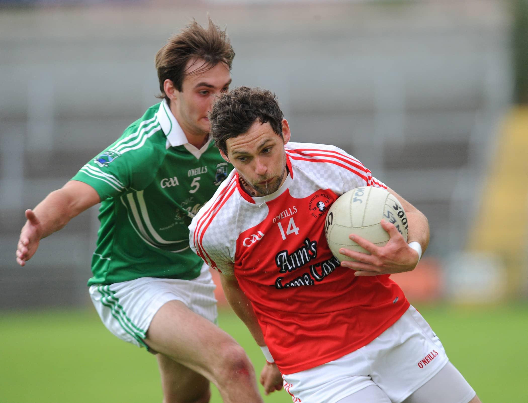 Annaghmore vs Shane O'Neill's in Armagh Senior Football Championship