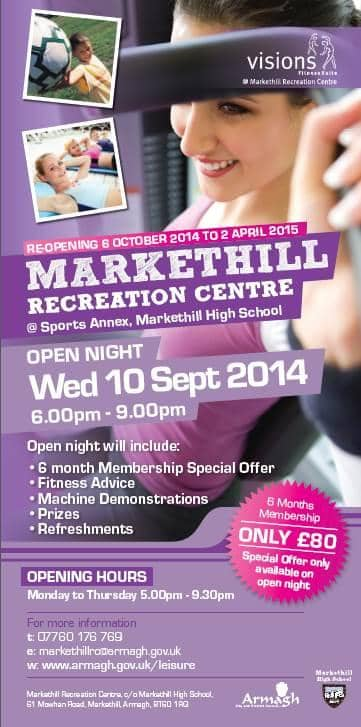 Markethill recreation centre