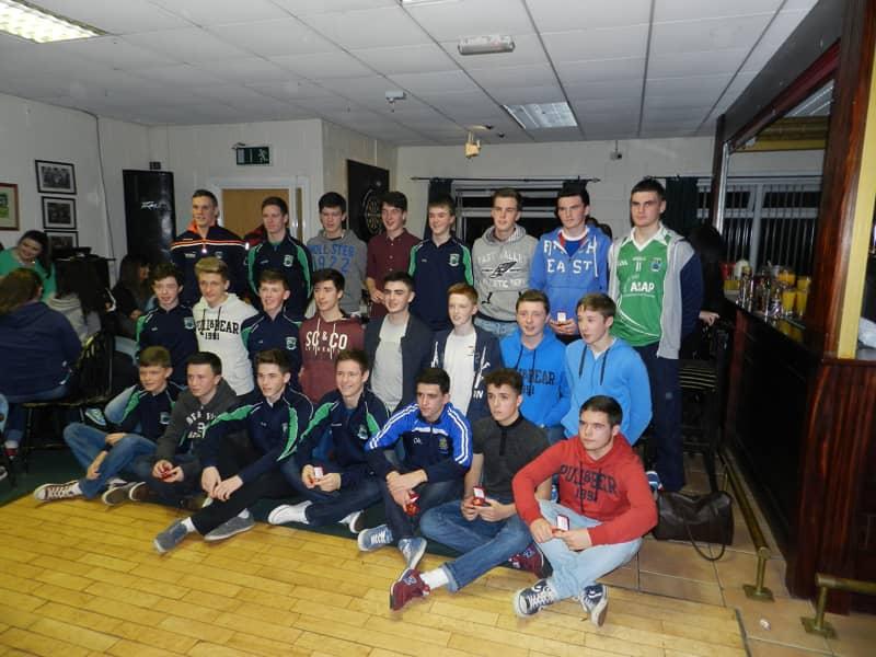 Shane O'Neills U16 boys