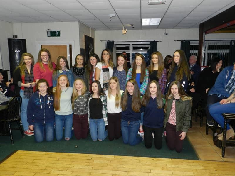 Shane O'Neills U16 girls