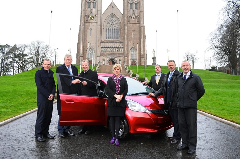 Launch of St Patrick's Cathedral Armagh Parish Development Draw
