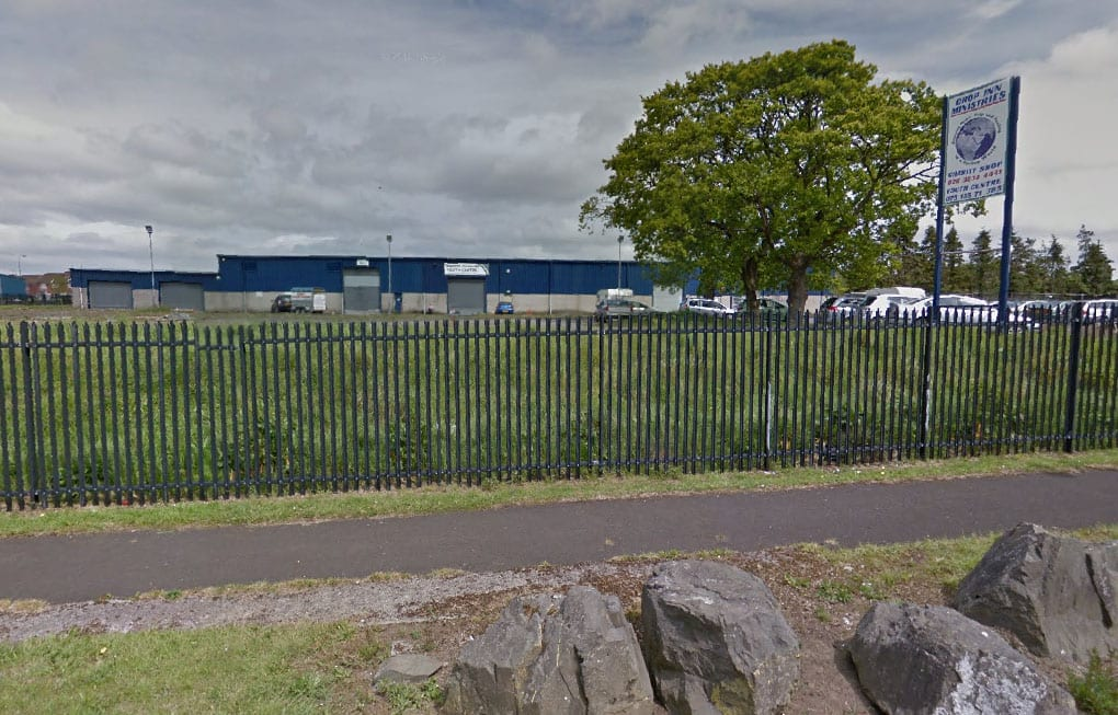 The site for the new £4.5m cinema in Craigavon