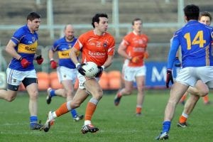 Jamie Clarke in action for Armagh. Photo: John Merry