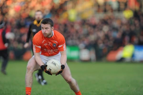 Armagh's Michael Murray in action