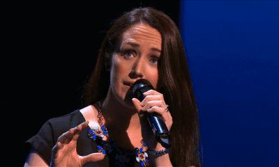 Singing sensation Catherine Grimley-Hughes