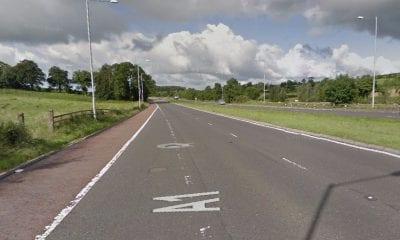 A1 outside Banbridge