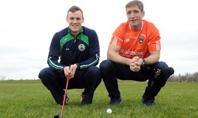 ARMAGH manager Kieran McGeeney and star player Mark Shields launch the St Killian's Whitecross GAC Barry Malone Memorial Golf Day, which takes place on Saturday, July 18, at Ashfield Golf Course.