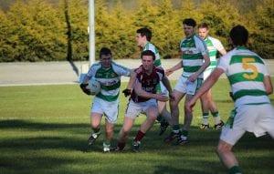 Darragh O'Hanlon fights past Dominic McParland