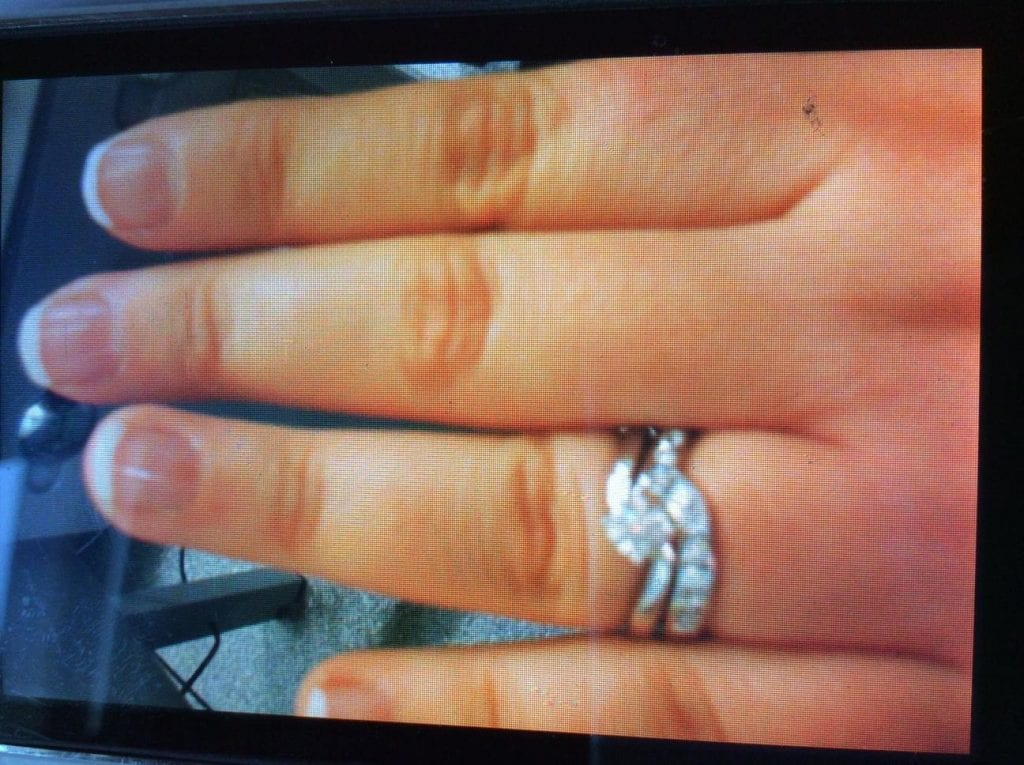 Stolen jewellery, Loughbrickland Road, Gilford