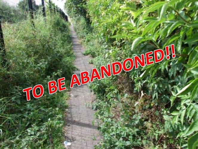 Lurgan path