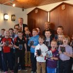 Armagh Rugby Club Mini Rugby Stars awarded by the club.