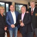 Anton Finn awarded the Nesbitt Cup at club awards event