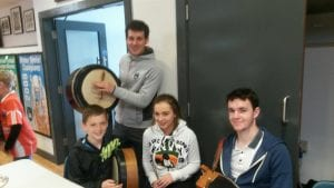 Jamie Clarke with Mullaghbawn juniors