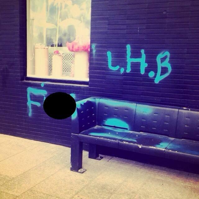 Armagh city graffiti