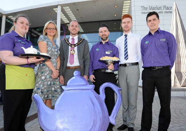 Coffee Morning at the Market Place Theatre, Armagh