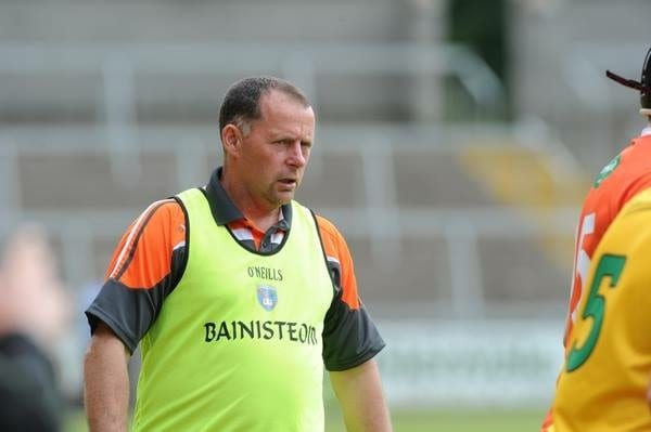 Armagh hurling manager Slyvester McConnell