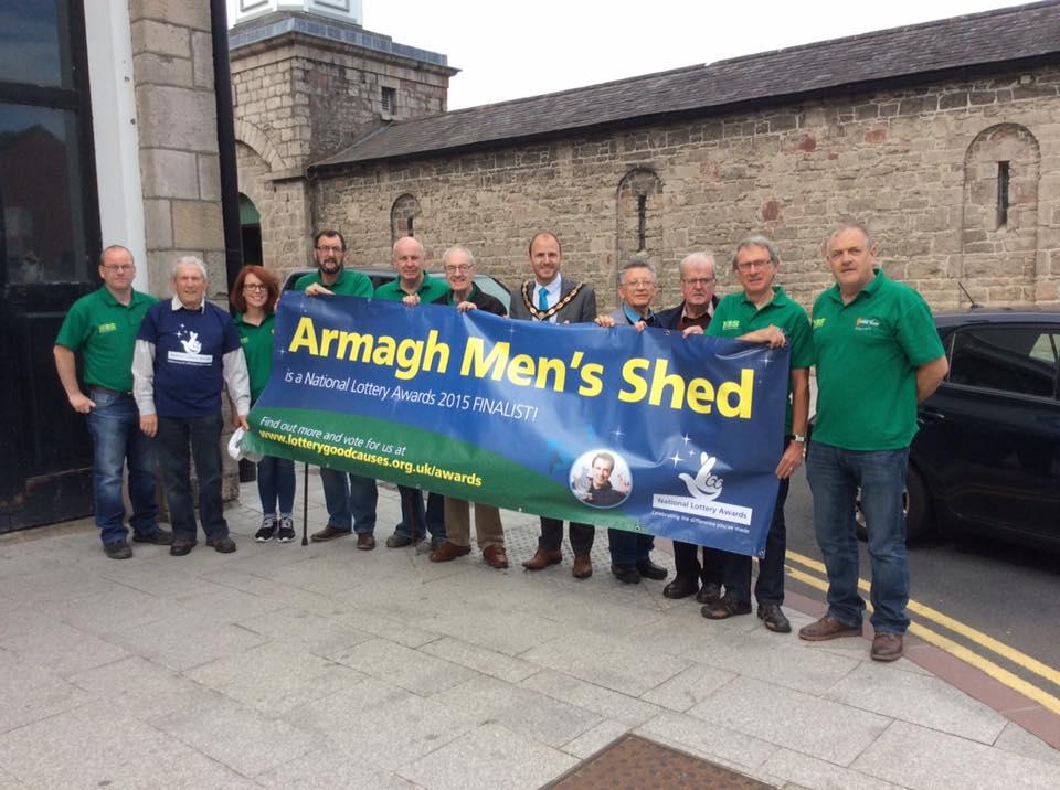 men's shed finalist