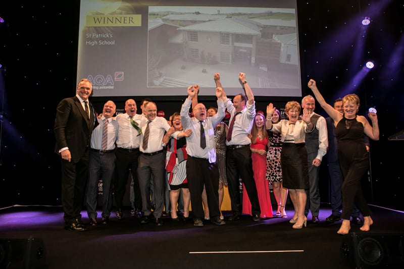 St Patrick's High School win Secondary School of the Year