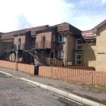Glenside, Killuney Drive, Armagh. Fire has gutted the property.