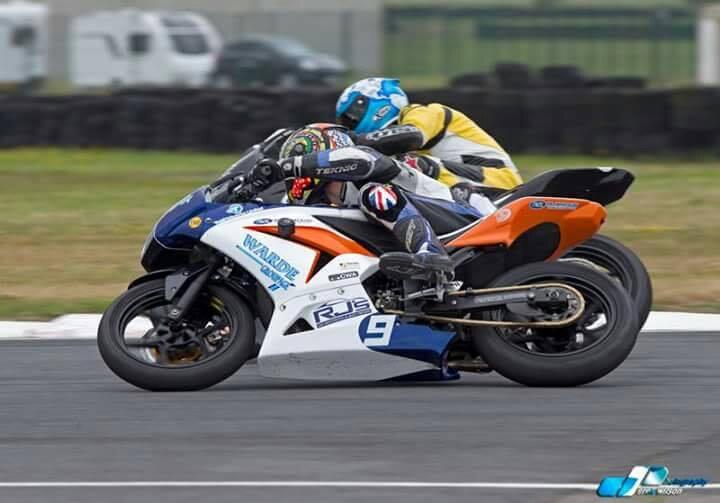 Redrock racer Jordan Burrows