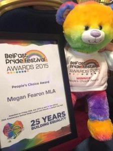 Megan's People's Choice Award