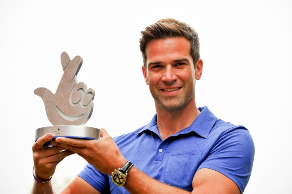 TV presenter Gethin Jones