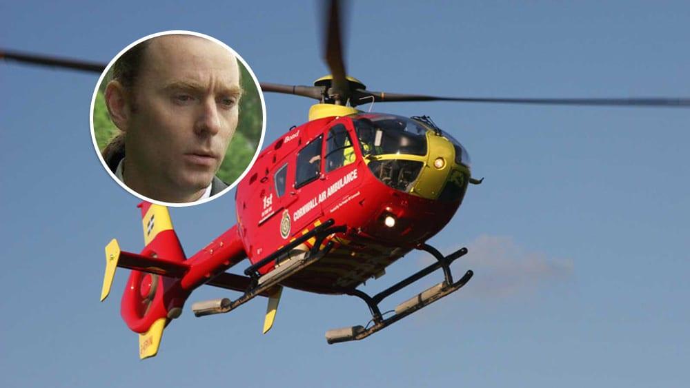 john Hinds air ambulance