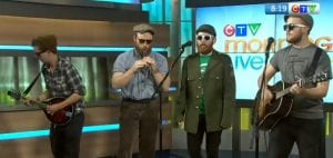 O'Hanlon's Horsebox live on Canadian TV