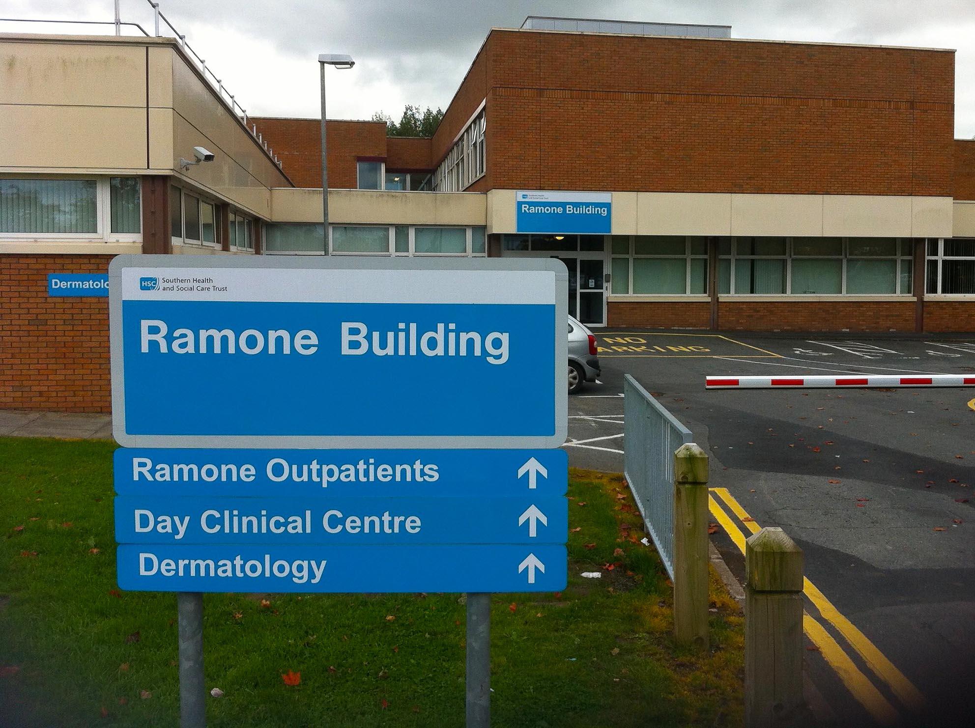 Ramone Building, Craigavon Area Hospital