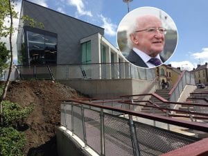President Michael D. Higgins will officially open Keady Community Centre on Wednesday.