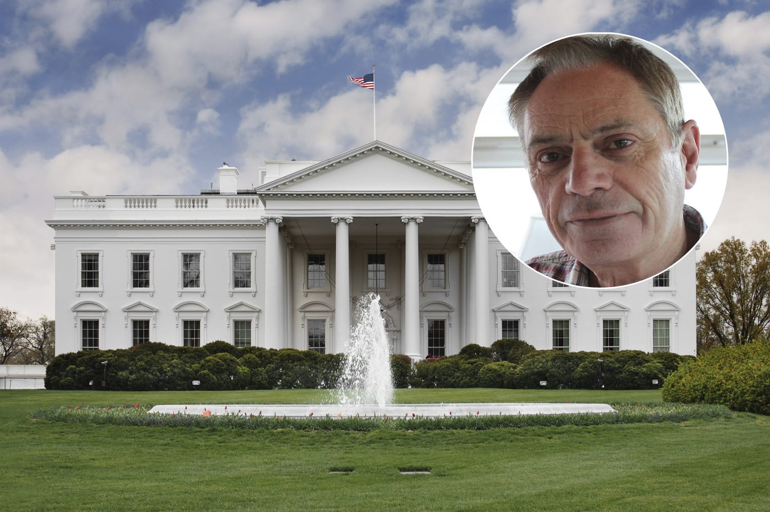 Paul Moorhead will be at the White House this week