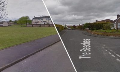 Houses were searched in The Beeches and Woodside Green areas of Portadown