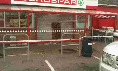 Attempted ATM theft, Spar, Forkhill Road