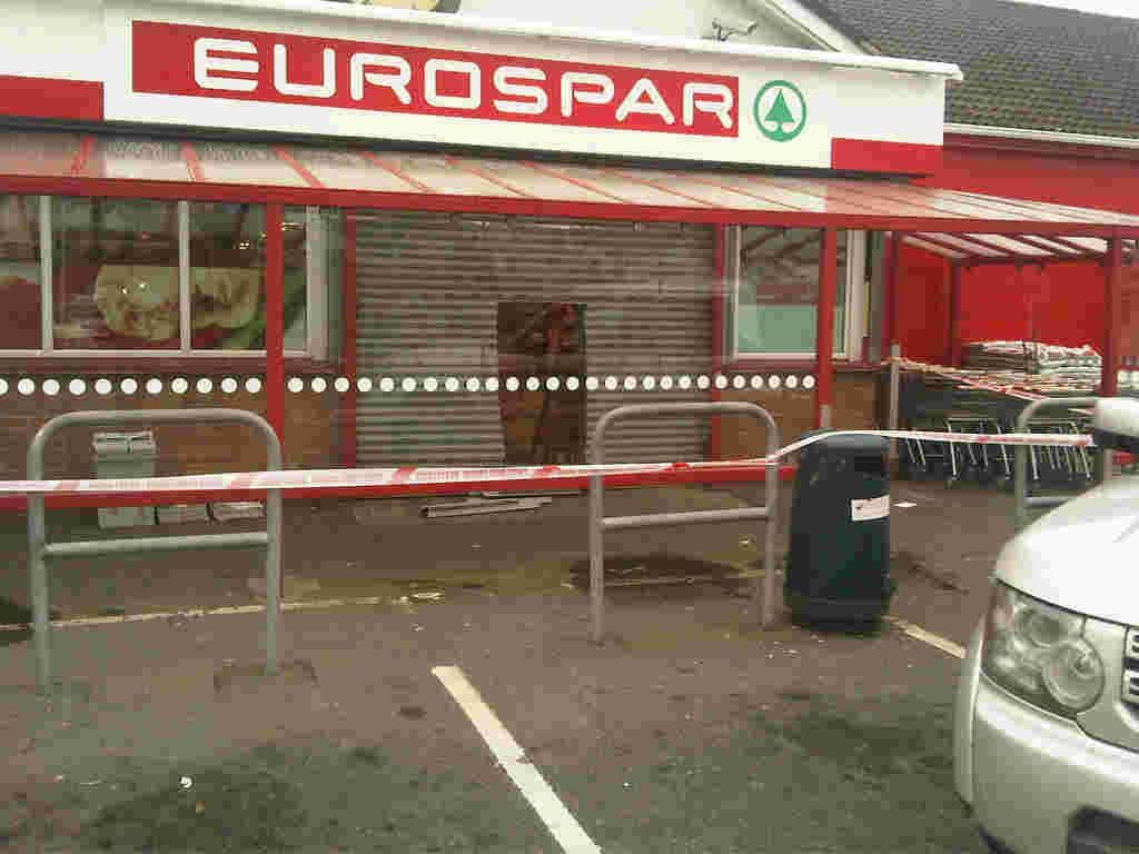 Attempted ATM theft, Spar, Forkhill Road