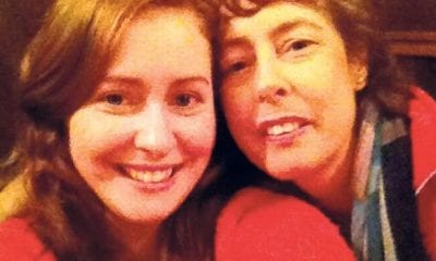 Grainne O'Neill with her mother Annie